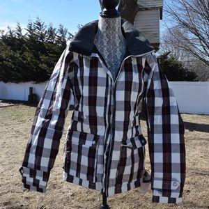 Burton Womens Flannel Snowboard Jacket